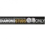 50% Off Black Diamond Stud Earrings