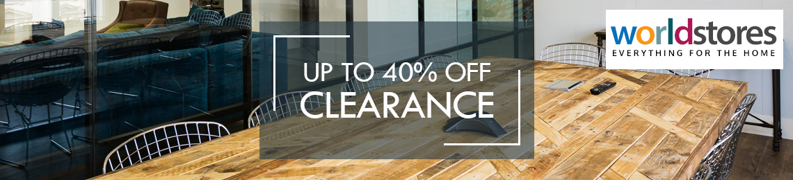 Up to 40% Off Clearance